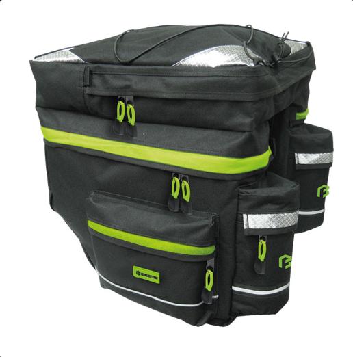 12bf9e51cdda Bikefun Hiker 3 részes csomagtartótáska esővédővel 2019