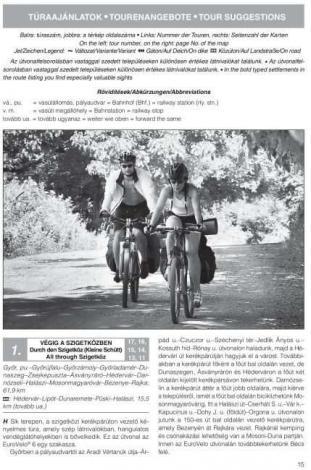 Frigoria Kisalföld és környéke kerékpáros útikalauz 2019