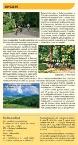 Frigoria Budai-hegység és környéke kerékpáros térkép 2019