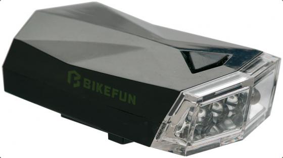 Bikefun Square 4 fehér led, 3 funkciós kerékpár első lámpa 2019