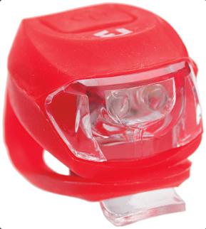 Bikefun Pixie 2 piros LED 2 funkció, szilikon kerékpár hátsó lámpa 2019