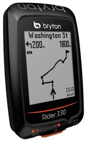 Bryton Rider 330T (+HRM, +CAD) GPS kerékpár kilométeróra szett 2019