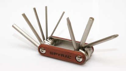 Spyral Wood 8 funkciós zsebszerszám 2019