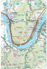 Frigoria Dunakanyar kerékpáros térkép és útikalauz 2019