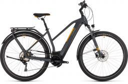 Cube Kathmandu Hybrid Pro 625 szürke-narancs női túratrekking e-bike 2020