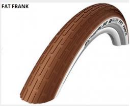 Schwalbe 28x2.00 Fat Frank Act HS375 KG SBC barna/fehér old. TW 890 g 29 coll MTB külső gumi 2020