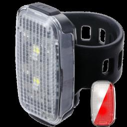 BBB SpotDuo (BLS-149) kerékpár lámpa szett 2020