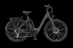 Winora Sinus Tria 8 szürke monotube túratrekking e-bike  2020
