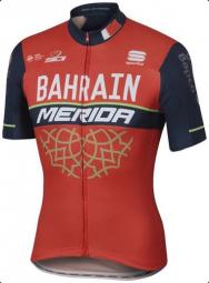Merida Bahrain Team Bodyfit rövid ujjú mez 2018