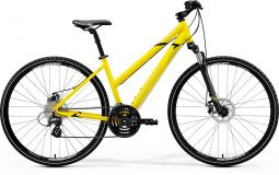Merida Crossway 15-MD sárga női cross trekking kerékpár 2020