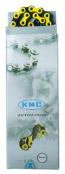 KMC Z510H sárga/fekete 1 sebességes kerékpár lánc 2020