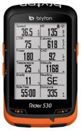 Bryton Rider 530T GPS kerékpár computer szett 2018