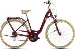 Cube Ella Ride piros női városi kerékpár 2020