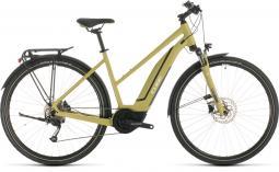 Cube Touring Hybrid One 400 zöld női túratrekking e-bike 2020
