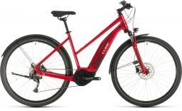 Cube Cross Hybrid One 400 Allroad piros női cross trekking e-bike 2020