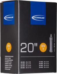 Schwalbe DV7 20X1,50-2,40 145G 40 mm Dunlop szelepes belső gumi 2020