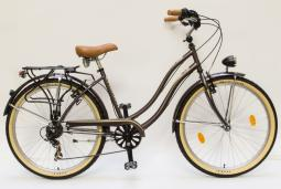 Csepel Cruiser Neo 7SP barna női cruiser kerékpár 2020