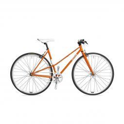 Csepel Royal 3* Lady női narancs fixi kerékpár 2020