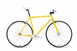 Csepel Royal 3* 17 sárga fixi kerékpár 2020