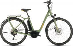 Cube Town Sport Hybrid Pro 400 zöld city e-bike 2020