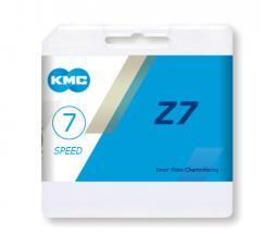KMC Z7 7s MTB 1/2 x 3/32 116L (Z50) 7 sebességes kerékpár lánc 2020