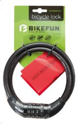 Bikefun Code Guard2 4 kódos kerékpár zár 2018