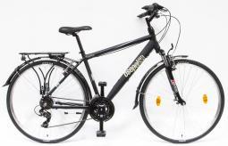 Csepel Traction 100 fekete túratrekking kerékpár 2020