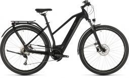 Cube Kathmandu Hybrid One 500 fekete női túratrekking e-bike 2020