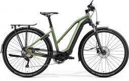 Merida eSpresso 400 EQ fekete-zöld női túratrekking e-bike 2020