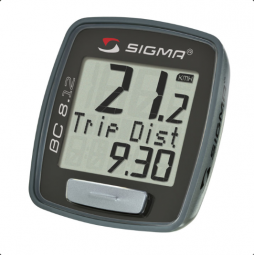 Sigma BC 8.12 kerékpár computer 2018