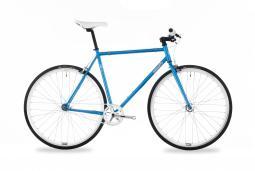 Csepel Royal 3* 17 kék fixi kerékpár 2020