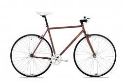 Csepel Royal 3* 17 barna fixi kerékpár 2020