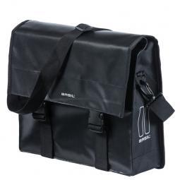 Basil Urban Load Messenger Bag fekete csomagtartótáska 2020