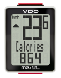 VDO M2.1 WL Kerékpár Computer Vezeték nélküli 2017