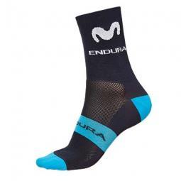 Endura Movistar Team Race Sock kerékpáros zokni 2019