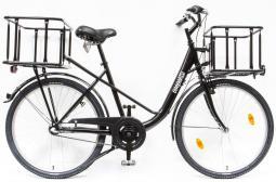 Csepel Pick Up 26/19 N3 18 teherhordó városi kerékpár kosárral 2019