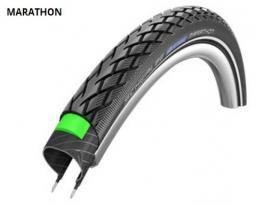 Schwalbe 27X1 1/4 Marathon Perf HS420 Greeng End Ref TW 660 g 27 coll külső gumi 2020