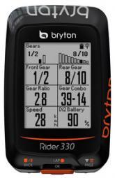 Bryton Rider 330T GPS kerékpár computer szett 2018
