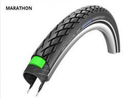Schwalbe 16X1.35 Marathon Perf HS420 Greeng End Ref TW 420 g 16