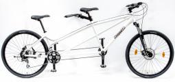 Csepel Tandem 200 teleszkópos krém tandem kerékpár 2020