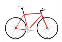 Csepel Royal 3* 17 piros fixi kerékpár 2020