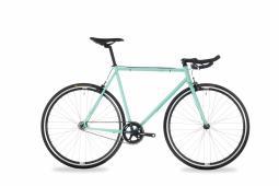Csepel Royal 4* 17 zöld fixi kerékpár 2020
