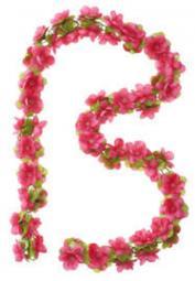 Basil Virág Girland kosárdísz 2017