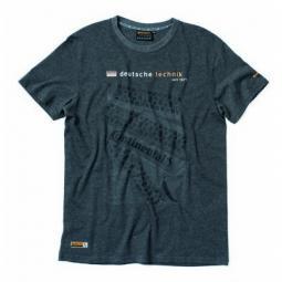 Continental Deutsche Technik szürke XL-es férfi póló 2019