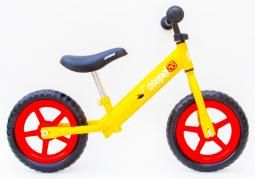 Csepel acél sárga gyermek futóbicikli 2018