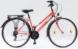 Csepel Landrider 28 21SP női korall túratrekking kerékpár 2020