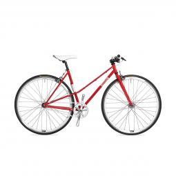 Csepel Royal 3* Lady női piros fixi kerékpár 2020