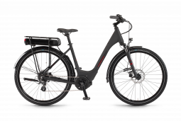 Winora Yucatan 8 Monotube fekete túratrekking e-bike 2020