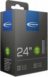 Schwalbe AV9A 24X0,8-1,10 95G 40 mm autoszelepes belső gumi 2020