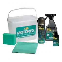 Motorex Bike Cleaning Kit tisztítószer csomag vödörben 2018